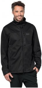 Jack Wolfskin Winddichte Softshelljacke Männer THE Emerald Men M schwarz, Gr. M