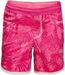 Jack Wolfskin Shorts Mädchen Jungle Shorts Girls 152 violett, Gr. 152