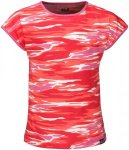 Jack Wolfskin T-Shirt Mädchen Coastal Wave T-Shirt Girls 152 rot, Gr. 152