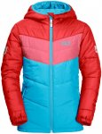 Jack Wolfskin Winddichte Winterjacke Kinder Three Hills Jacket Kids 92 blau, Gr.
