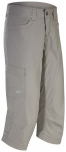 Arc'teryx - Parapet Capri Women's - Shorts Gr 4 - Lenght: 32'';8 - Lenght: 32'' oliv;grau