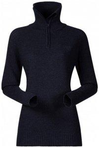 Bergans - Ulriken Lady Jumper - Merinopullover Gr XL schwarz