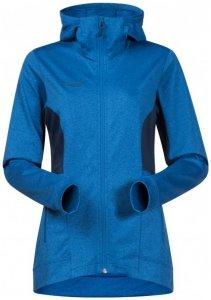 Bergans - Women's Lom Fleece Jacket with Hood - Fleecejacke Gr L;M;S;XS schwarz;blau
