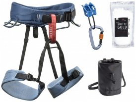 Black Diamond - Women's Momentum Harness Package Gr XS blau
