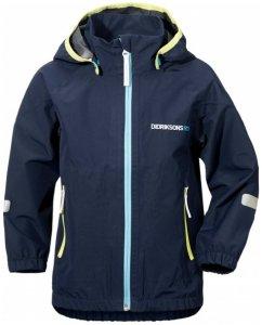 Didriksons - Bay Kid's Jacket - Hardshelljacke Gr 130 schwarz/blau