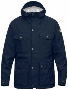 Fjällräven - Övik Eco-Shell Jacket - Hardshelljacke Gr M blau/schwarz