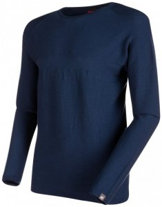 Mammut - Alvra Midlayer Pull - Merinopullover Gr L;M;S;XXL grau;blau/schwarz