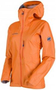 Mammut - Nordwand Light HS Hooded Jacket Women Gr L orange