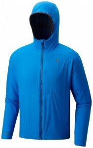 Mountain Hardwear - ATherm Hooded Jacket - Fleecejacke Gr M blau