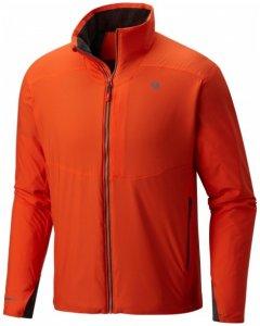Mountain Hardwear - ATherm Jacket - Fleecejacke Gr M;S rot;blau