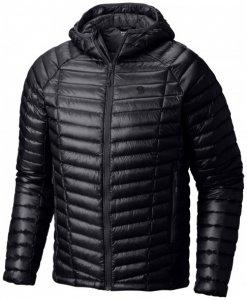 Mountain Hardwear - Ghost Whisperer Hooded Down Jacket Gr M schwarz
