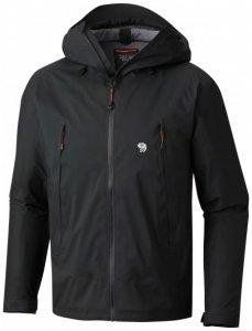 Mountain Hardwear - Quasar Lite II Jacket - Hardshelljacke Gr M schwarz