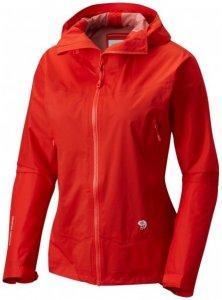 Mountain Hardwear - Women's Quasar Lite II Jacket Gr L;M;S;XS rot;gelb
