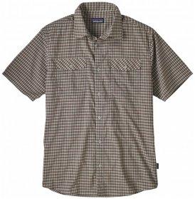 Patagonia - High Moss Shirt - Hemd Gr S grau