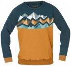 ABK - Denver Crag Sweat - Pullover Gr XL orange/blau/schwarz
