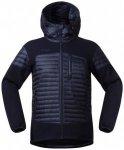 Bergans - Osen Down/Wool Jacket - Wolljacke Gr XL schwarz