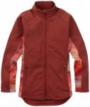 Burton - Women's Crystal Collar Full-Zip Gr M rot