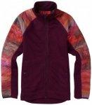 Burton - Women's Pierce Fleece - Fleecejacke Gr S;XS lila/rot;grau