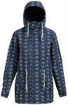 Burton - Women's Sadie Jacket - Mantel Gr M blau/schwarz/grau