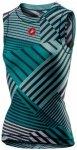 Castelli - Women's Pro Mesh 2 Sleeveless - Radunterhemd Gr L türkis/schwarz/gra