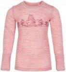 CeLaVi - Kid's Blouse L/S Wonder Wollies - Merinounterwäsche Gr 110 rosa/beige