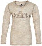 CeLaVi - Kid's Blouse L/S Wonder Wollies - Merinounterwäsche Gr 130 beige/weiß