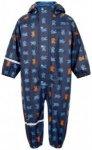 CeLaVi - Kid's Rainwear Suit PU With All Over Print Gr 70 blau/schwarz