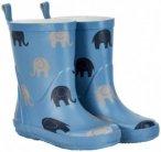 CeLaVi - Kid's Wellies With All Over Elephants Gr 22 blau/grau