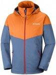 Columbia - Inner Limits Jacket - Hardshelljacke Gr L - Regular blau/orange