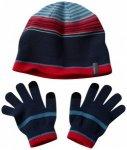 Columbia - Kid's Hat and Glove Set - Mütze Gr One Size schwarz/blau;schwarz