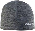 Craft - Light Thermal Hat - Mütze Gr S/M grau/schwarz
