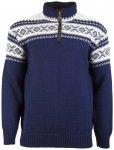 Dale of Norway - Cortina Half Zip Sweater - Merinopullover Gr M blau/schwarz/gra
