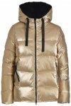 Deha - Women's Active Hooded Padded Jacket - Kunstfaserjacke Gr M beige/braun/sc