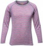Devold - Breeze Kid Shirt - Merinounterwäsche Gr 6 years grau/rosa