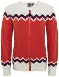 Elevenate - Women's Santiago Knit - Wolljacke Gr L;M;S;XL;XS rot/weiß;schwarz/g