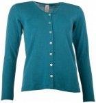 Engel - Women's Cardigan - Wolljacke Gr 46 / 48 türkis/blau