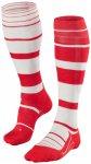 Falke - SK4 Stripe - Skisocken Gr 46-48 rot/grau