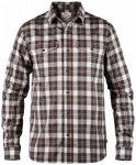 Fjällräven - Singi Flannel Shirt L/S - Hemd Gr XL grau/schwarz