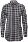 Fjällräven - Women's High Coast Flannel Shirt L/S - Bluse Gr L;M;S;XS grau/sch