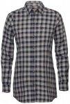 Fjällräven - Women's High Coast Flannel Shirt L/S - Bluse Gr M grau/schwarz