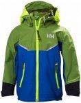 Helly Hansen - Kid's Shelter Jacket - Hardshelljacke Gr 6 blau/grün/oliv