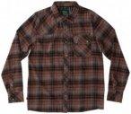 Hippy Tree - Piedmont Flannel - Hemd Gr L;S;XL braun/schwarz