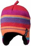 Isbjörn - Kid's Eaglet Knitted Cap - Mütze Gr 40 - 42 rosa/rot/lila/schwarz
