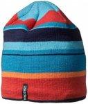 Isbjörn - Kid's Hawk Knitted Cap - Mütze Gr 48/50 schwarz/grün/türkis/blau;b
