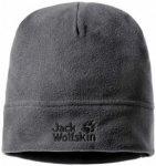 Jack Wolfskin - Real Stuff Cap - Mütze Gr 55-59 cm schwarz/grau