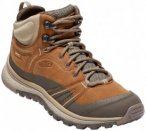 Keen - Women's Terradora Leather Mid WP - Wanderschuhe Gr 6 braun