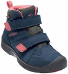 Keen - Youth Hikeport Mid Strap WP - Multisportschuhe Gr 1 blau
