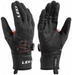 Leki - HS Nordic Tune Shark Boa - Handschuhe Gr 7 schwarz