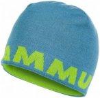 Mammut - Mammut Logo Beanie - Mütze Gr One Size schwarz/gelb