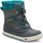 Merrell - Girls Snow Bank 2.0 Waterproof - Winterschuhe Gr 28 türkis